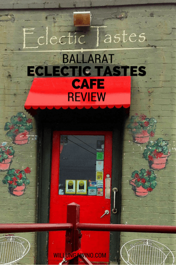 Eclectic Tastes Cafe review Ballarat