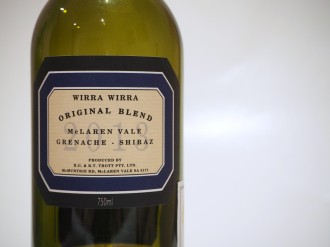 Wirra Wirra Original Blend 2013 Wine Tasting Note Review