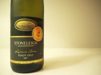 Stoneleigh Marlborough 2007 Pinot Gris Wine Tasting Note Review