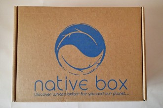Native Box April 2015 Review