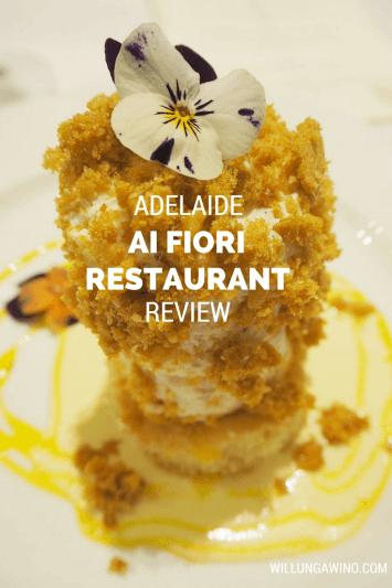 Ai Fiori Restaurant Vegetarian Menu Review