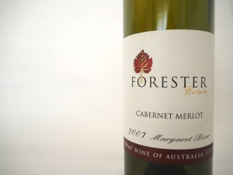 Forrester Estate Margaret River Cabernet Merlot 2007 wine tasting note review