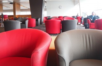 Qantas Domestic Business Club Lounge Adelaide Review by Willunga Wino