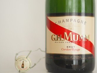 Mumm Champagne Brut Cordon Rouge NV Wine Tasting Review