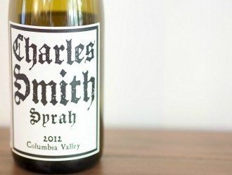 Charles Smith Syrah 2012 Wine Tasting Review