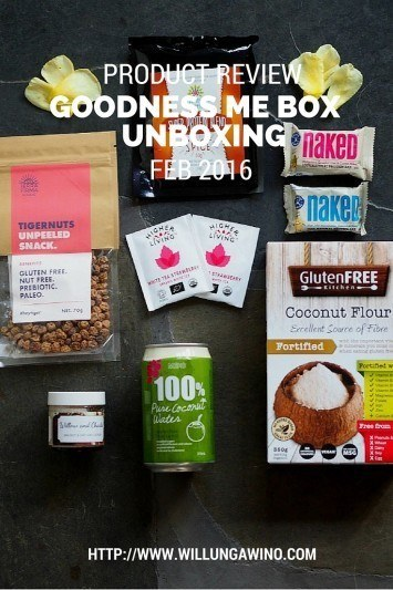 Goodness Me Box Unboxing Feb 2016 Review