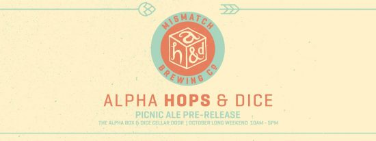 Picnic Ale Launch Alpha Box & Dice
