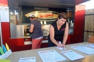 Shredded Wrap & Roll Food Truck Review