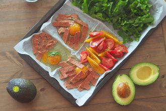 Avocado Easy Tray Bake Breakfast Recipe